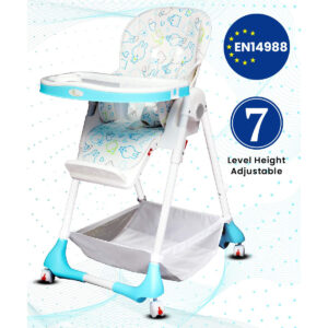 R for Rabbit Marshmallow The Smart High Chair - White-0