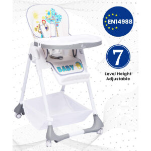R for Rabbit Marshmallow The Smart High Chair - Grey-0