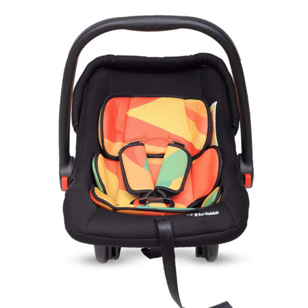 R for Rabbit Picaboo Infant Car Seat Cum Carry Cot (Multicolour)-0