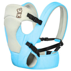 R For Rabbit New Cuddle Snuggle - 3 Way Comfortable Baby Carrier - Sky Blue-0