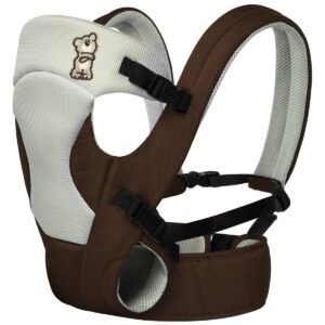 R For Rabbit New Cuddle Snuggle - 3 Way Comfortable Baby Carrier - Brown-0