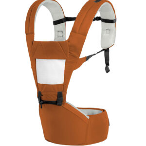 R for Rabbit Upsy Daisy - The Smart Hip Seat Baby Carrier - Brown/Cream-0