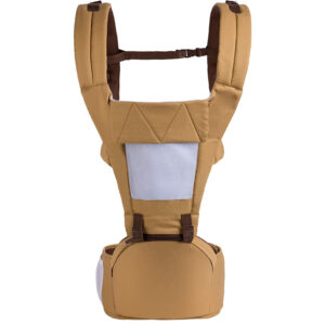 R for Rabbit Upsy Daisy - The Smart Hip Seat Baby Carrier - Light Brown-0