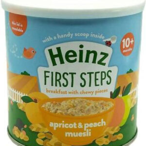Heinz First Steps Apricot & Peach Muesli Cereal, 260g-0