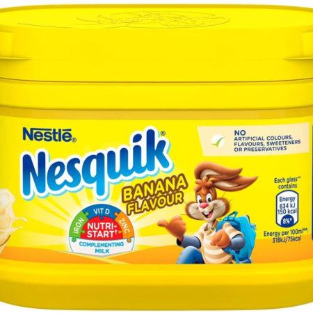 Nestle Nesquik Banana Milkshake Mix 300g-0