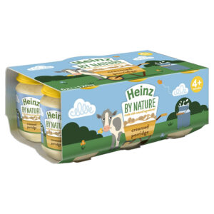 Heinz Creamed Porridge (4-36M) - 120gm (Pack of 6) ( Best before nov 2020)-0