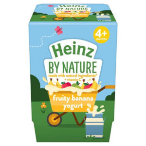 heinz Fruity Banana Yogurt 2 x 100g (200g)m+ -0