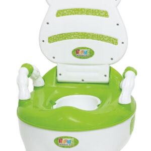 Young Wheel Baby Chair & Potty Trainer 2 in 1- Green-0