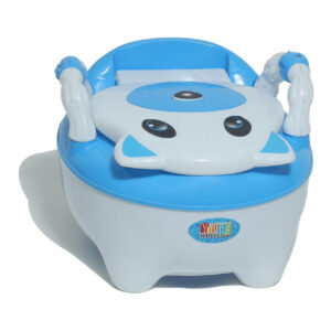 Young Wheel Baby Chair & Potty Trainer 2 in 1- Blue-0