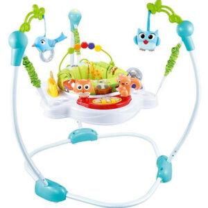 R for Rabbit Kangaroo Baby Bouncer Cum Activity Center - Green-0