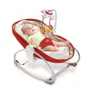 Tiny Love 3-in-1 Cozy Rocker Napper - Red-0