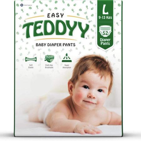 Teddyy Baby Easy Large Diaper Pants (Pack of 52)-0