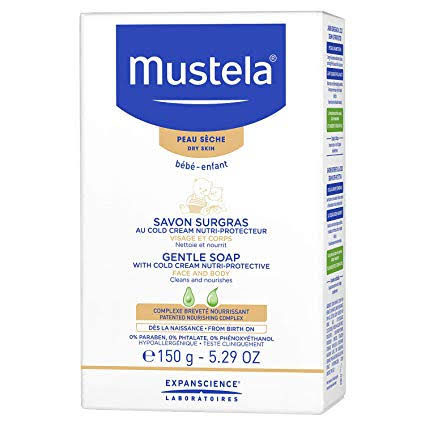 Mustela Gentle Soap With Cold Cream 150g/5.29oz-0